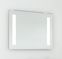 Spejl med LED lys 90 cm