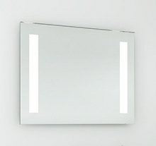 Speil med LED lysfelter 80 cm