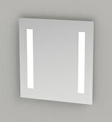 Spejl med LED lys 60 cm