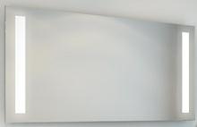 Spejl med LED lys 120 cm