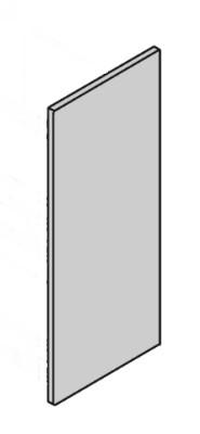 Låge 700x396 uboret