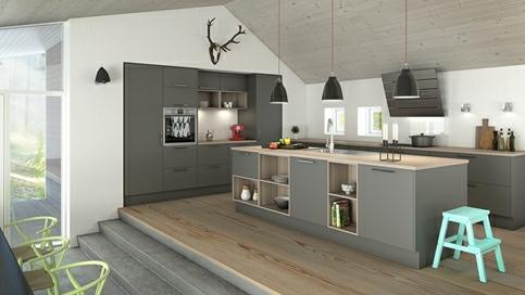 Inspirasjon til kjøkken - Ideer til kjøkkeninnredning  Nettoline.no ...
