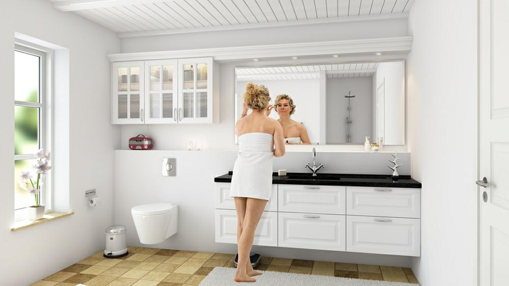 Badeværelse inspiration - Find inspiration til bad - nettoline.dk