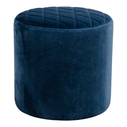 Ejby puf - mørkeblå