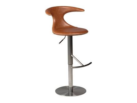 Flair barstol - Lysebrun læder