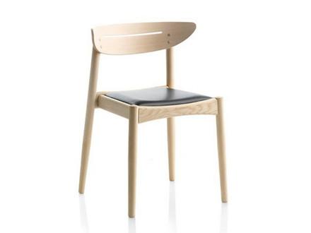 Jakob spisebordsstol - læder