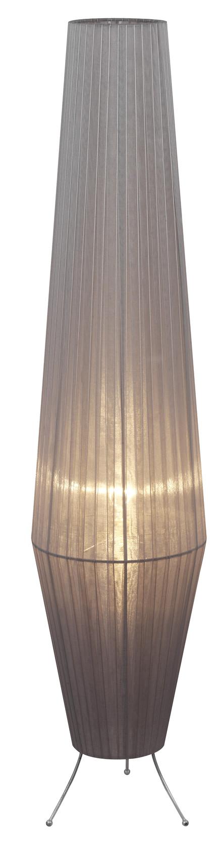 Lavi gulvlampe - grå