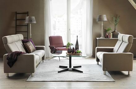 Pause sofasæt 3+2 pers. høj ryg