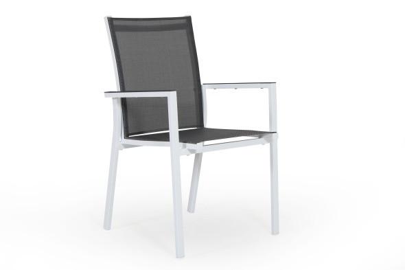 Avanti havestol small - hvid/grå