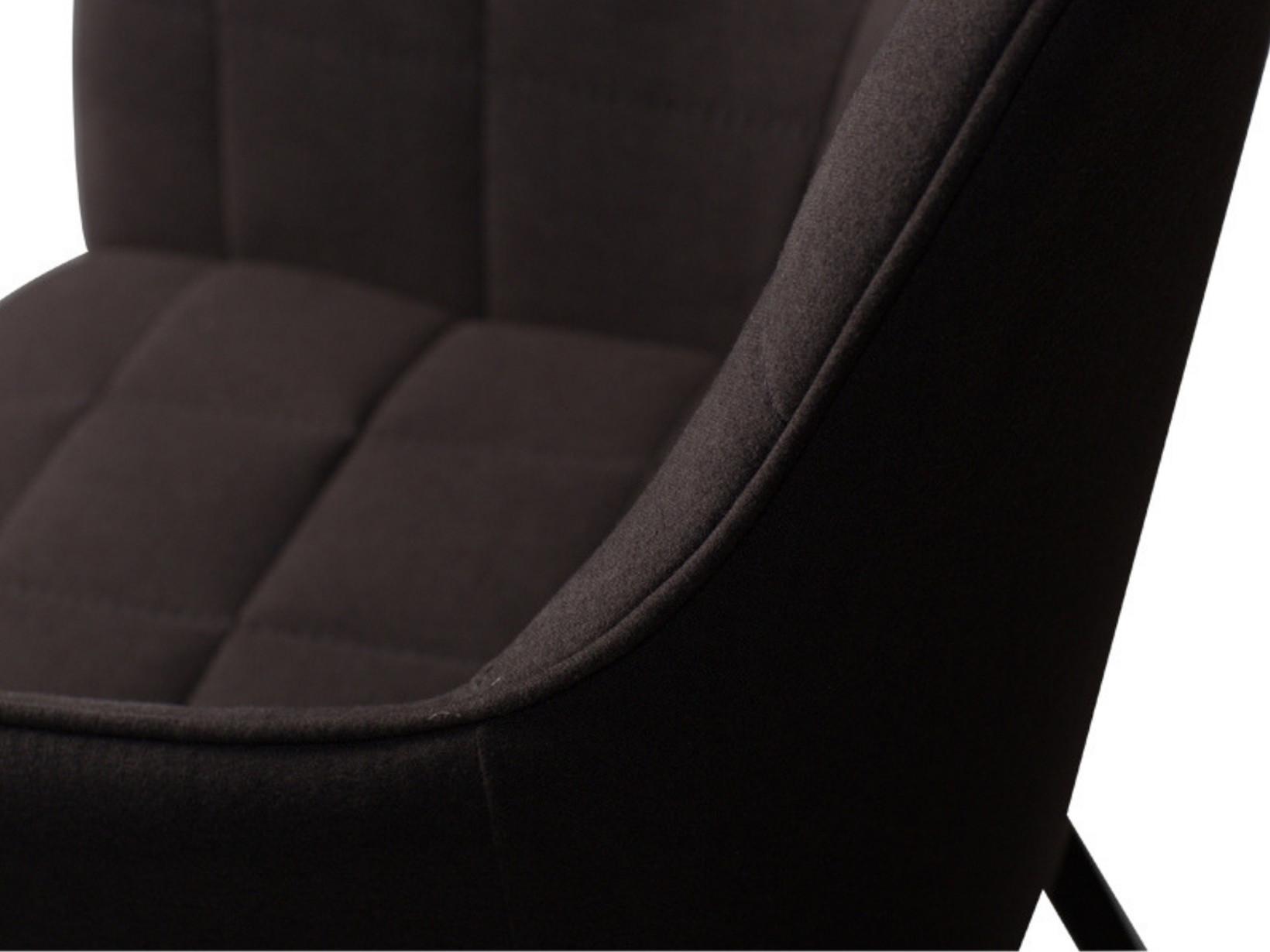 Embrace spisebordsstol Sort møbelstof