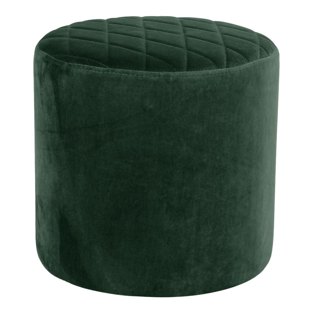 Ejby puf - mørkegrøn