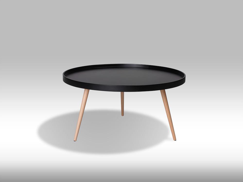 Opus sofabord - sort stor