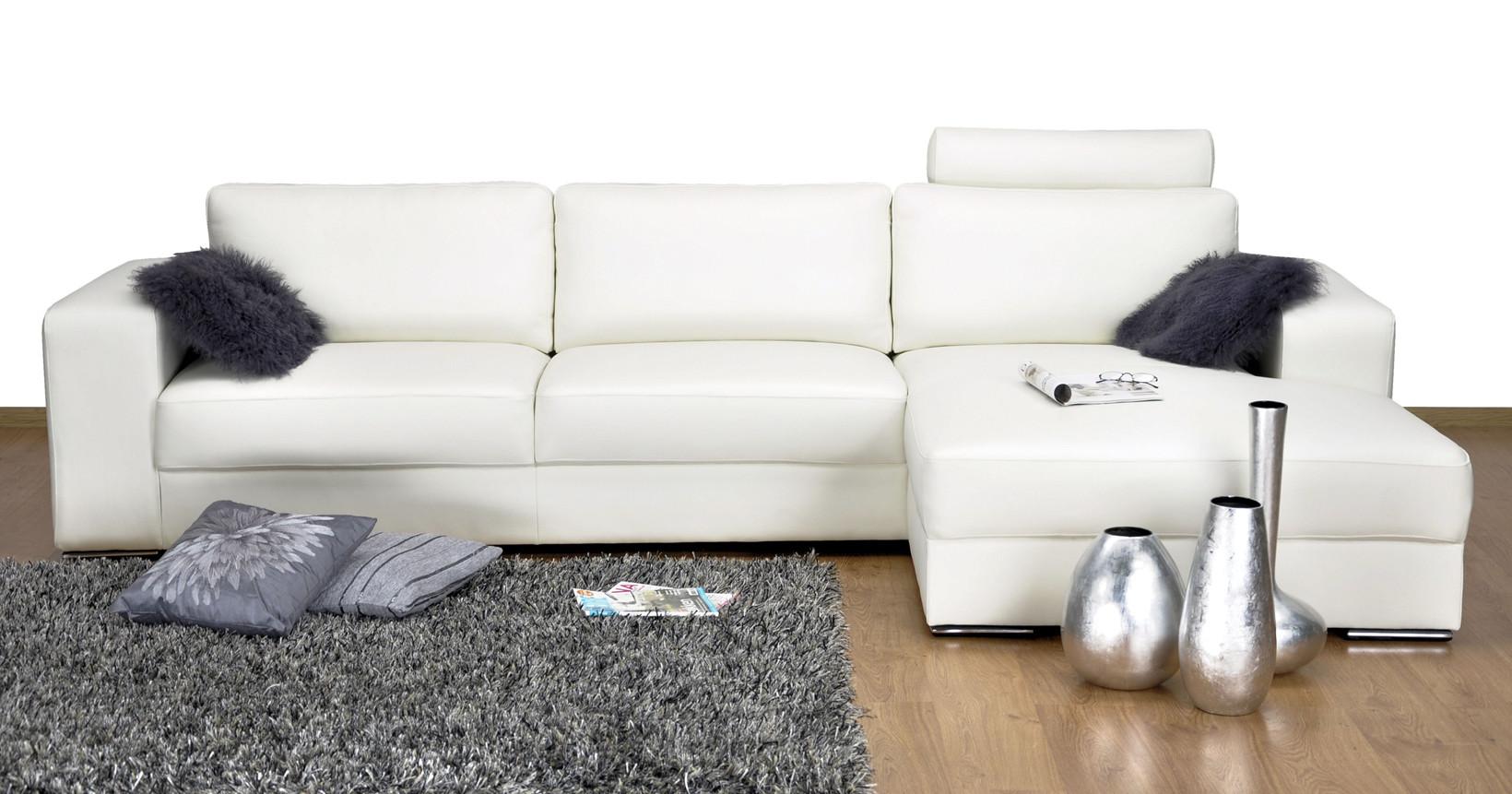 Hjort Knudsen Manchester Sofa I Hvidt Laeder