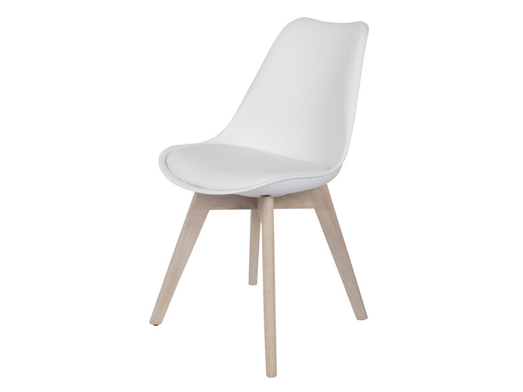 Jinex spisebordsstol - Hvid