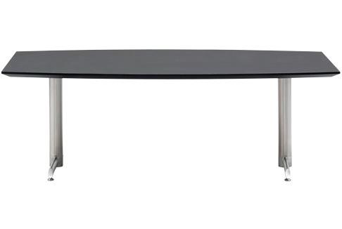 Designerbordet Sofabord - bådformet, stålstel