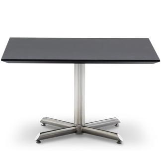 Designerbordet Sofabord - stålstel