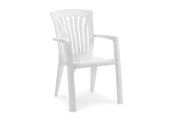 Diana havestol - hvid