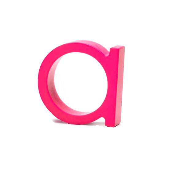 AlphaArt bogstav lille a - pink