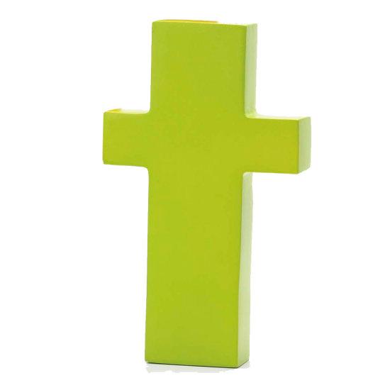 AlphaArt bogstav lille t - limegrøn
