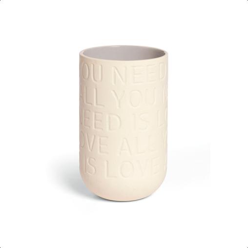 KÄHLER Love Song vase - lille 17 cm