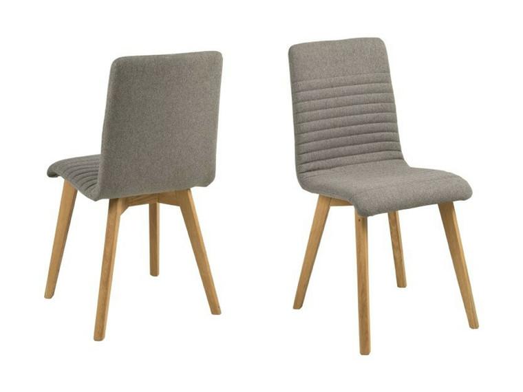 Arosa spisebordsstol - lysegrå