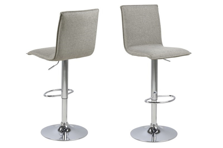 Anela barstol - grå