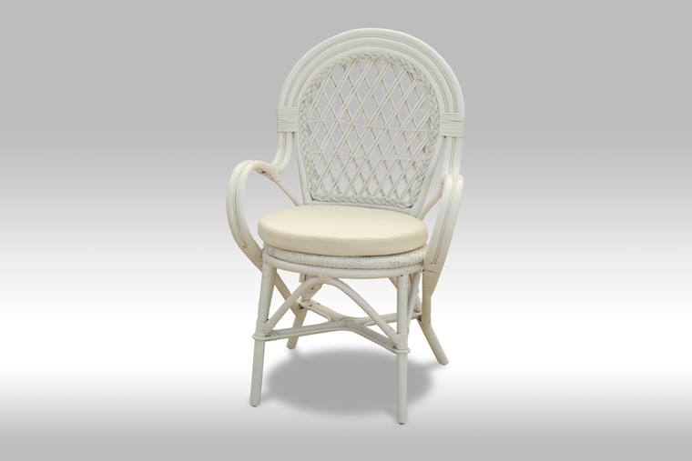 Bali Spisebordsstol hvid
