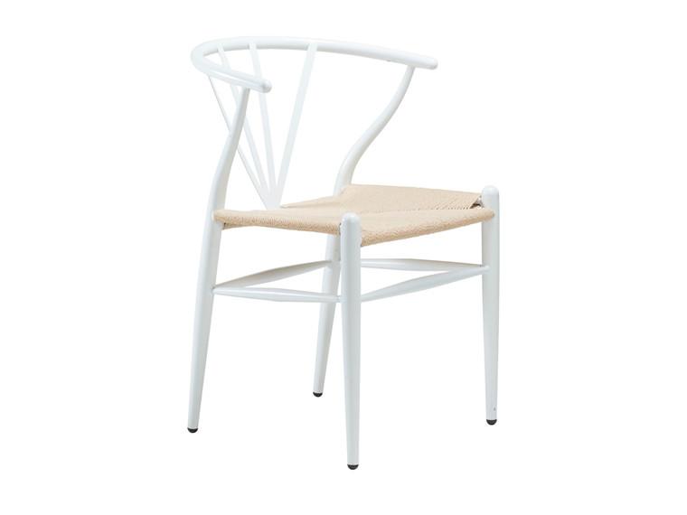 Delta spisebordsstol - Hvid