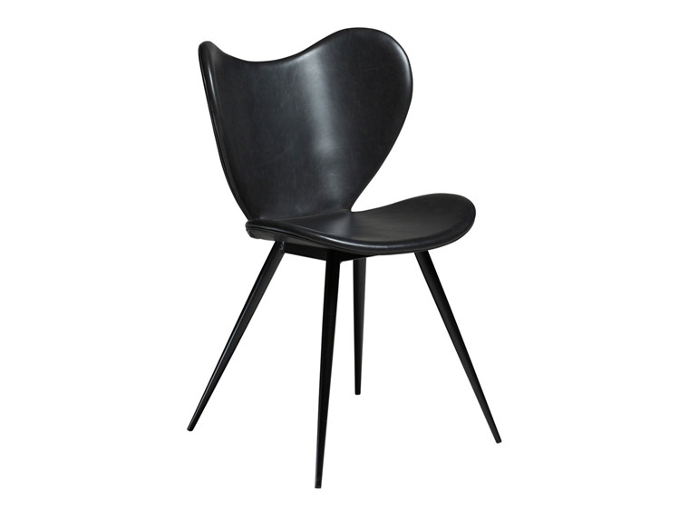 Dreamer spisebordsstol - Sort læderlook