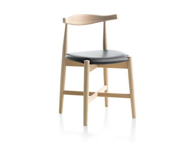 Dora spisebordsstol - læder