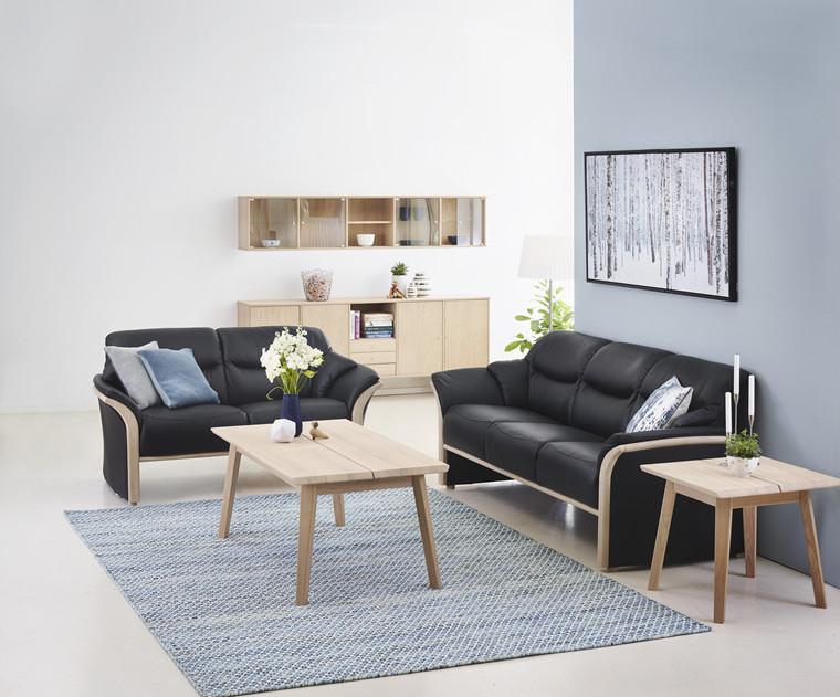 Dover sofasæt 3+2 pers. sofa læder