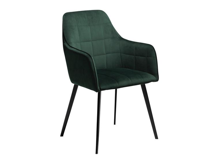Embrace spisebordsstol - Emerald grøn velour