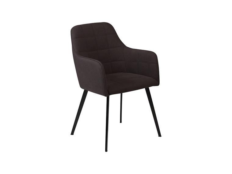 Embrace spisebordsstol - Sort møbelstof