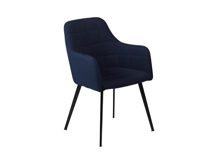 Embrace spisebordsstol - Blå møbelstof