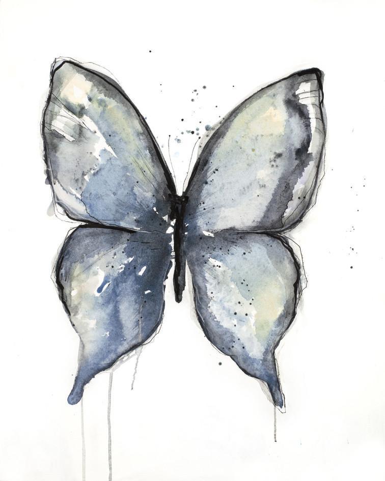 Freja / Aquarelle butterfly