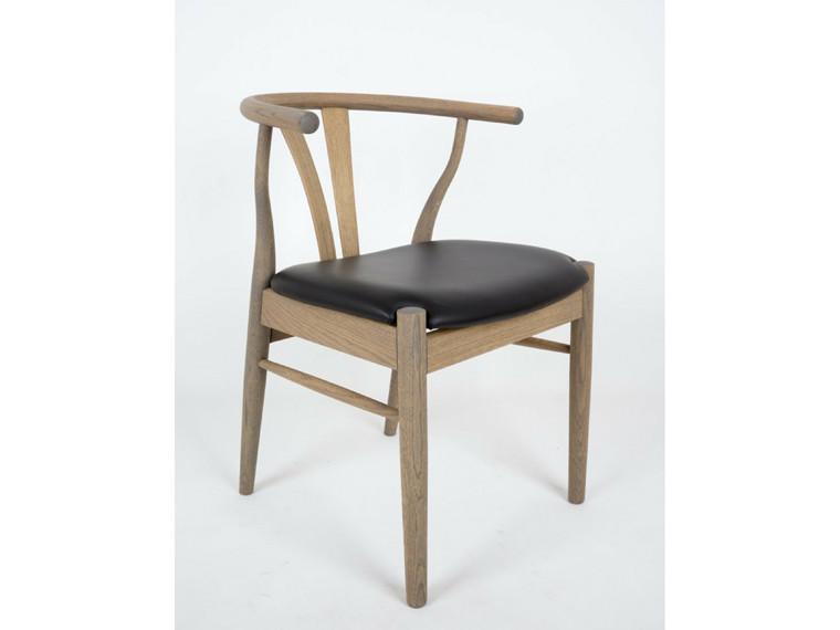 Freja spisebordsstol - læder