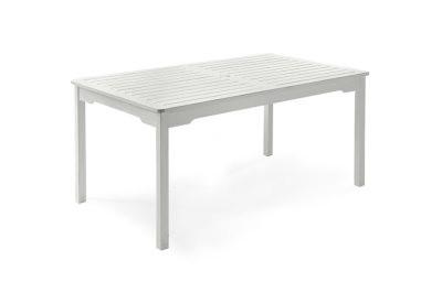 Grundsund havebord - hvid