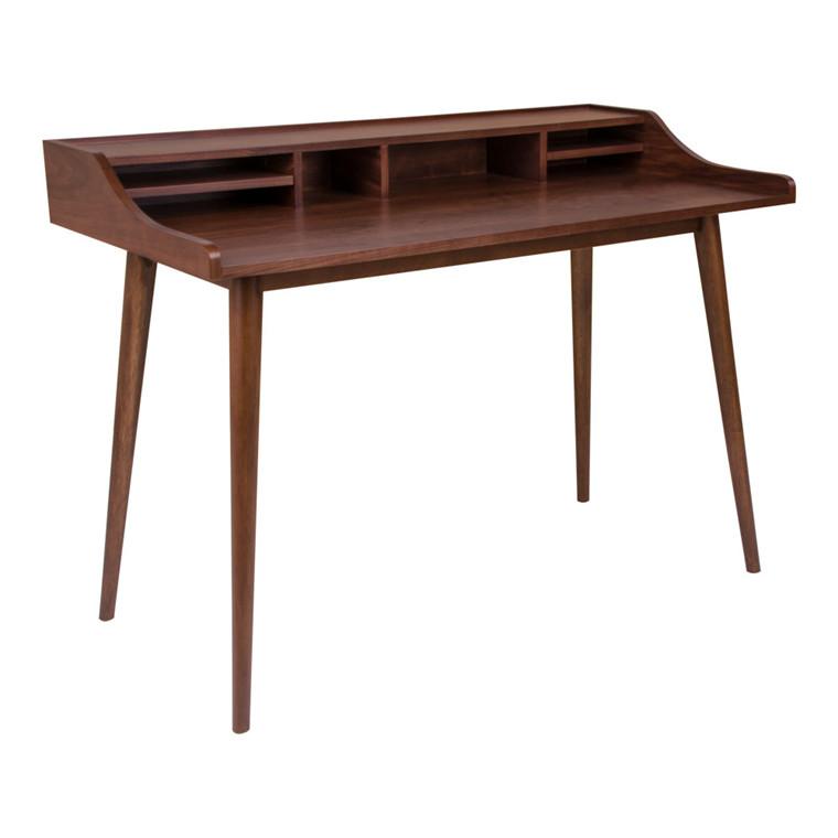 Hellerup skrivebord - valnød
