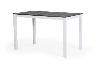 Leone havebord small - hvid og grå
