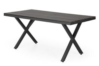 Leone havebord medium - sort og grå
