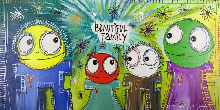 Line B / Beautiful Family 9