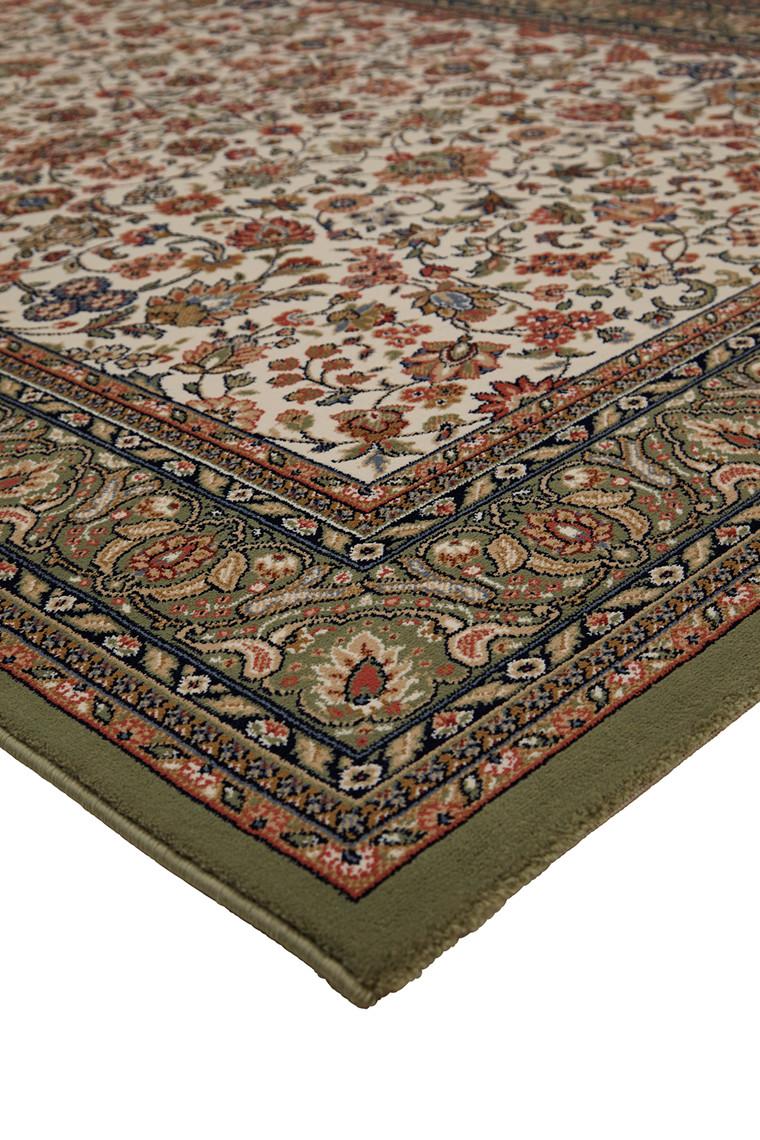 Maya grøn tæppe