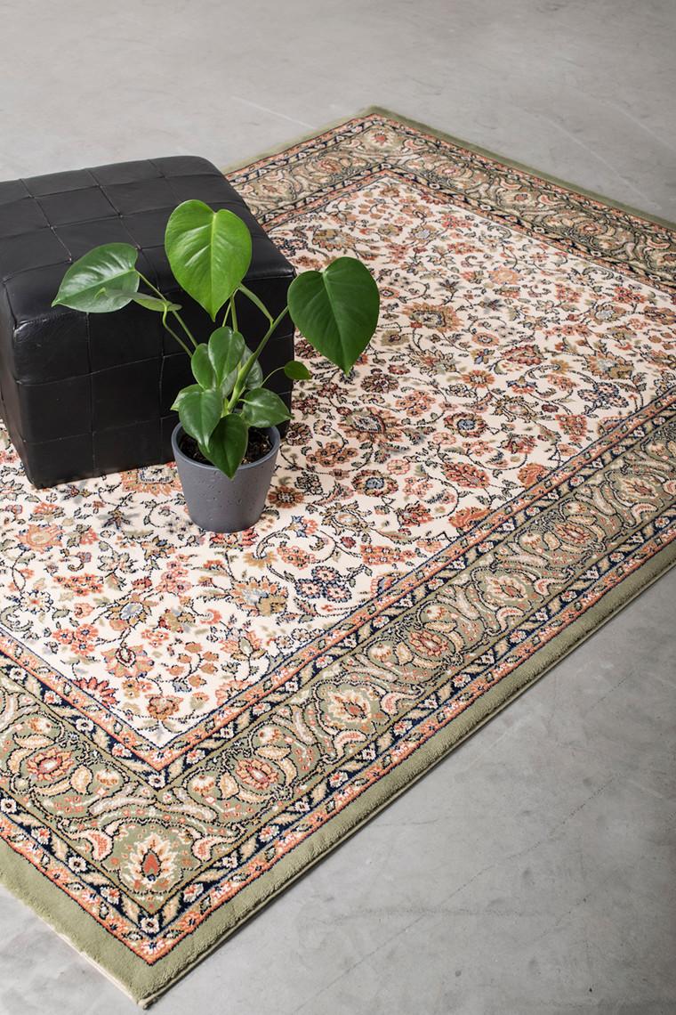 Maya beige tæppe