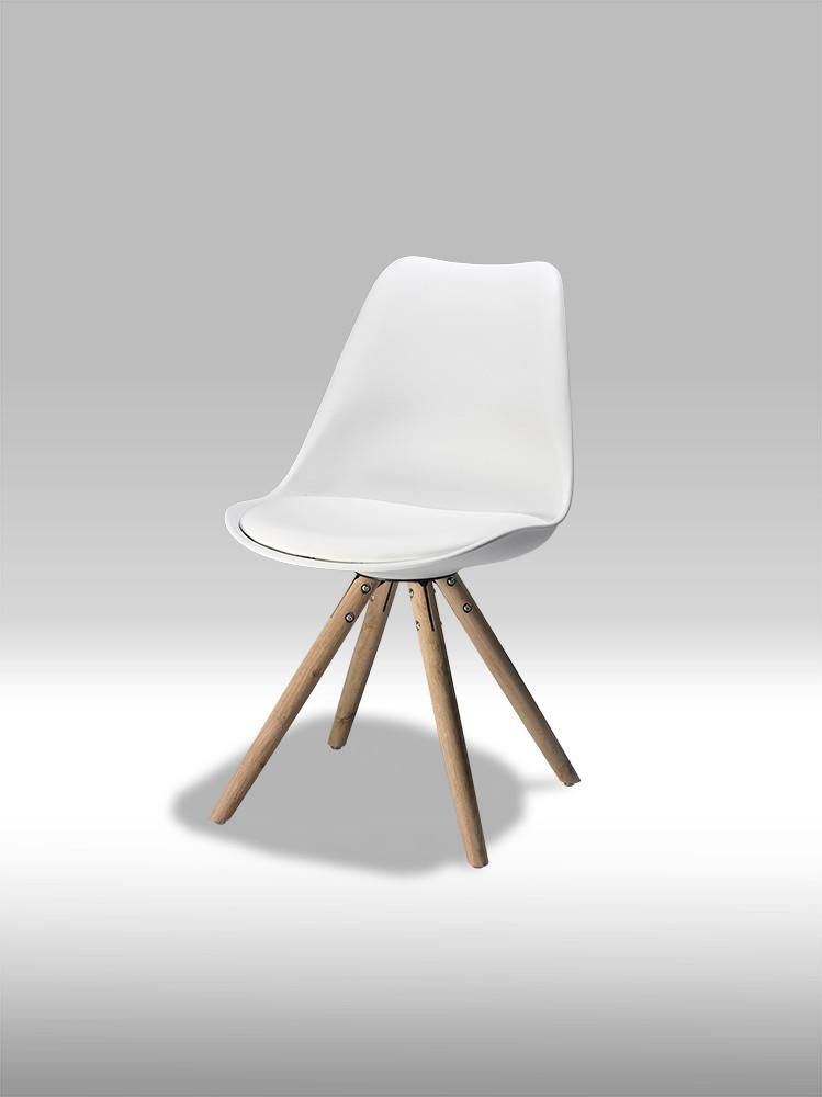 Mille spisebordsstol hvid