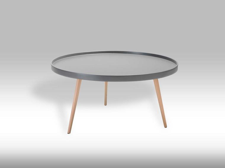 Opus sofabord - grå stor