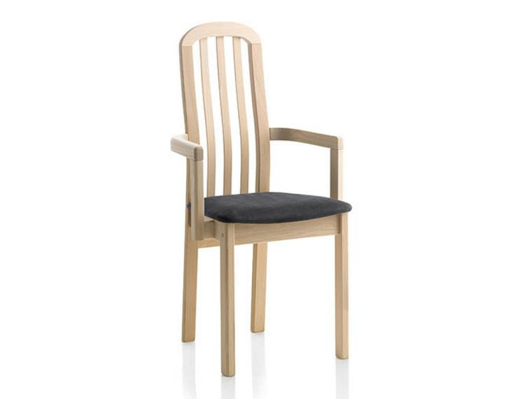 Ponti spisebordsstol m. armlæn - læder