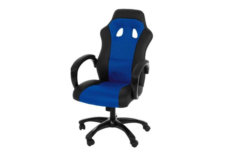 Race gaming chair - blå