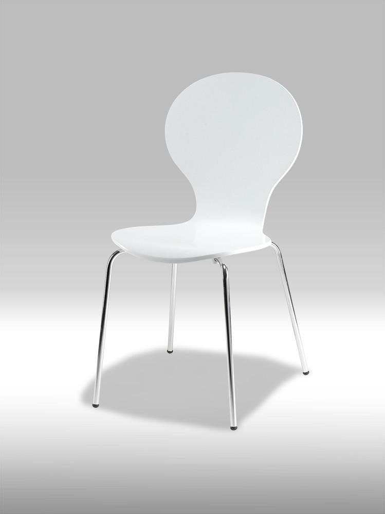 Rudi Spisebordsstol hvid