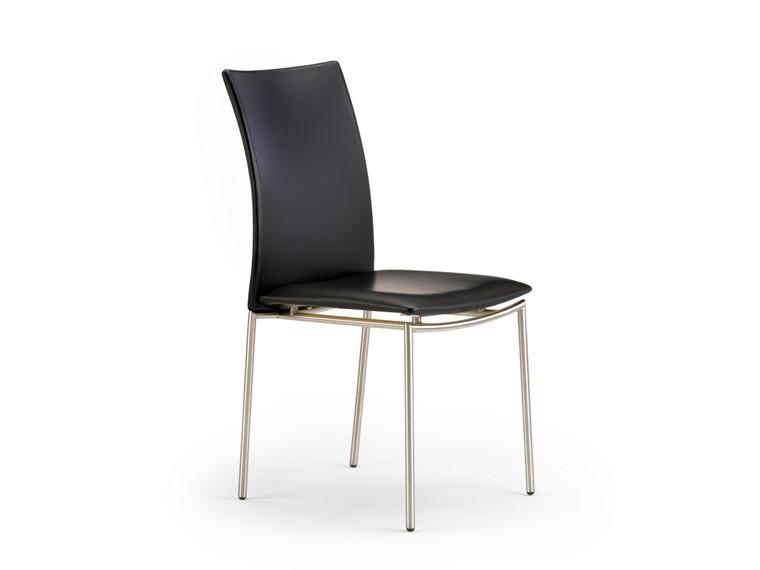 Super tilbud på Skovby SM 58 spisebordsstol sort læder