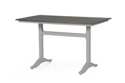 Seine havebord - sølv og grå